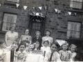 Edge Bank VE Day party, 1945
