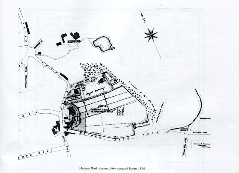 !896 First suggested layout of Meadow Bank Avenue Estate